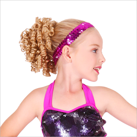 ATTACHABLE DANCER'S WIGLET - First Class Dancewear NQ