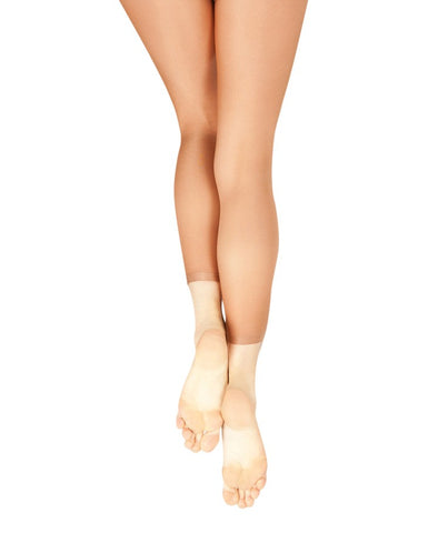 ULTRA SHIMMERY FOOTLESS TIGHTS (ADULT) - First Class Dancewear NQ