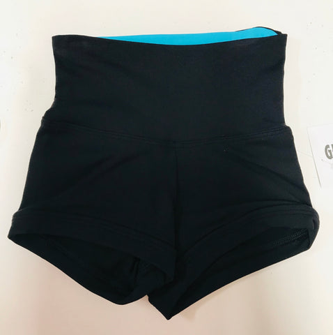 HIGH WAIST/ROLL DOWN SHORTS
