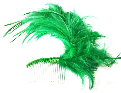 ADJUSTABLE FEATHER FASCINATION COMB - First Class Dancewear NQ