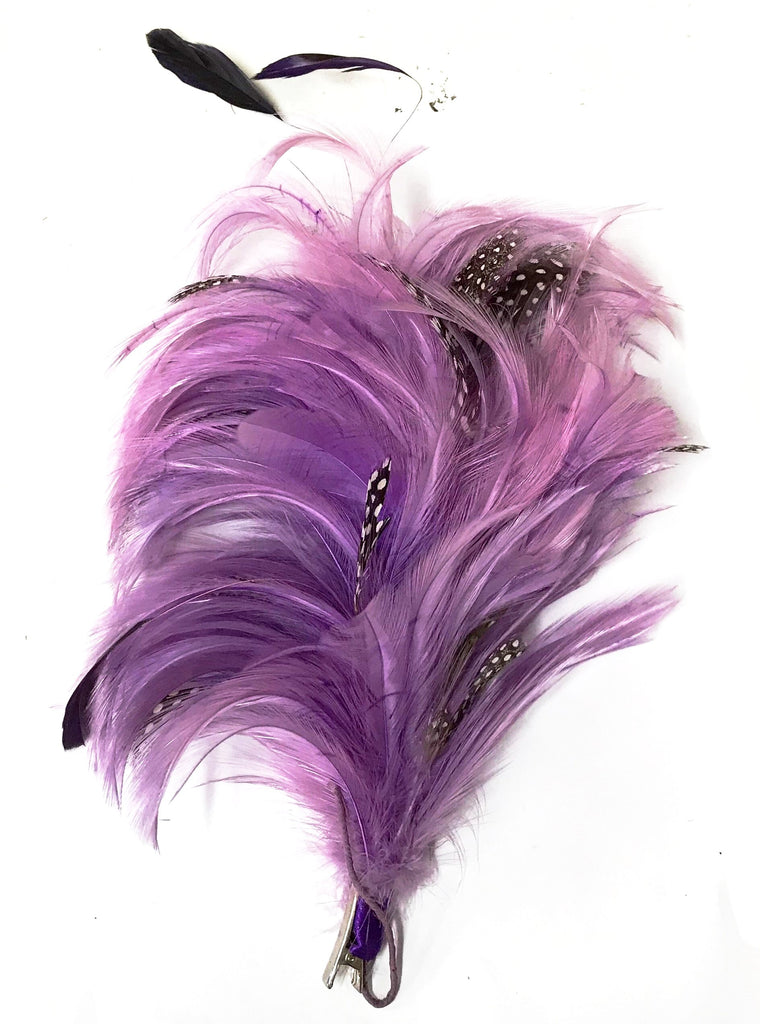 ADJUSTABLE FEATHER FASCINATOR CLIP