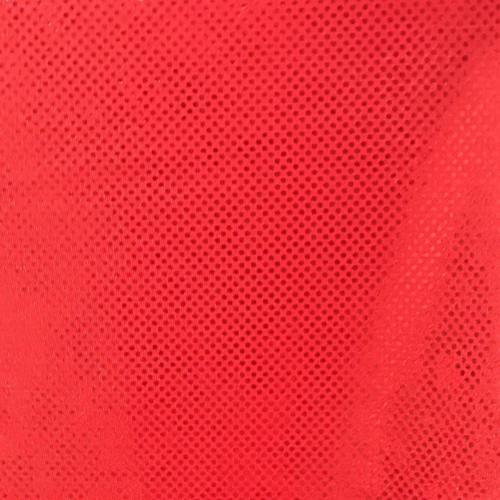 SHATTERED GLASS LYCRA MATERIAL RED