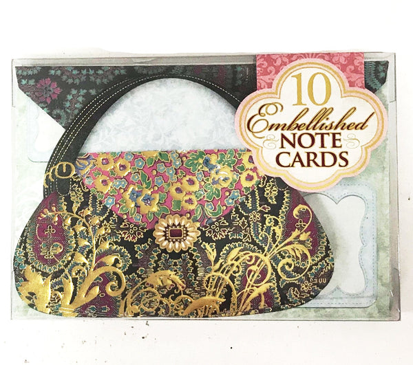 Embellished Note Cards 10pk