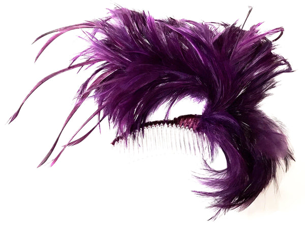 ADJUSTABLE FEATHER FASCINATION COMB