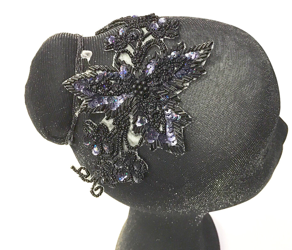 SEQUIN FLOWER WRAP VINE MOTIF
