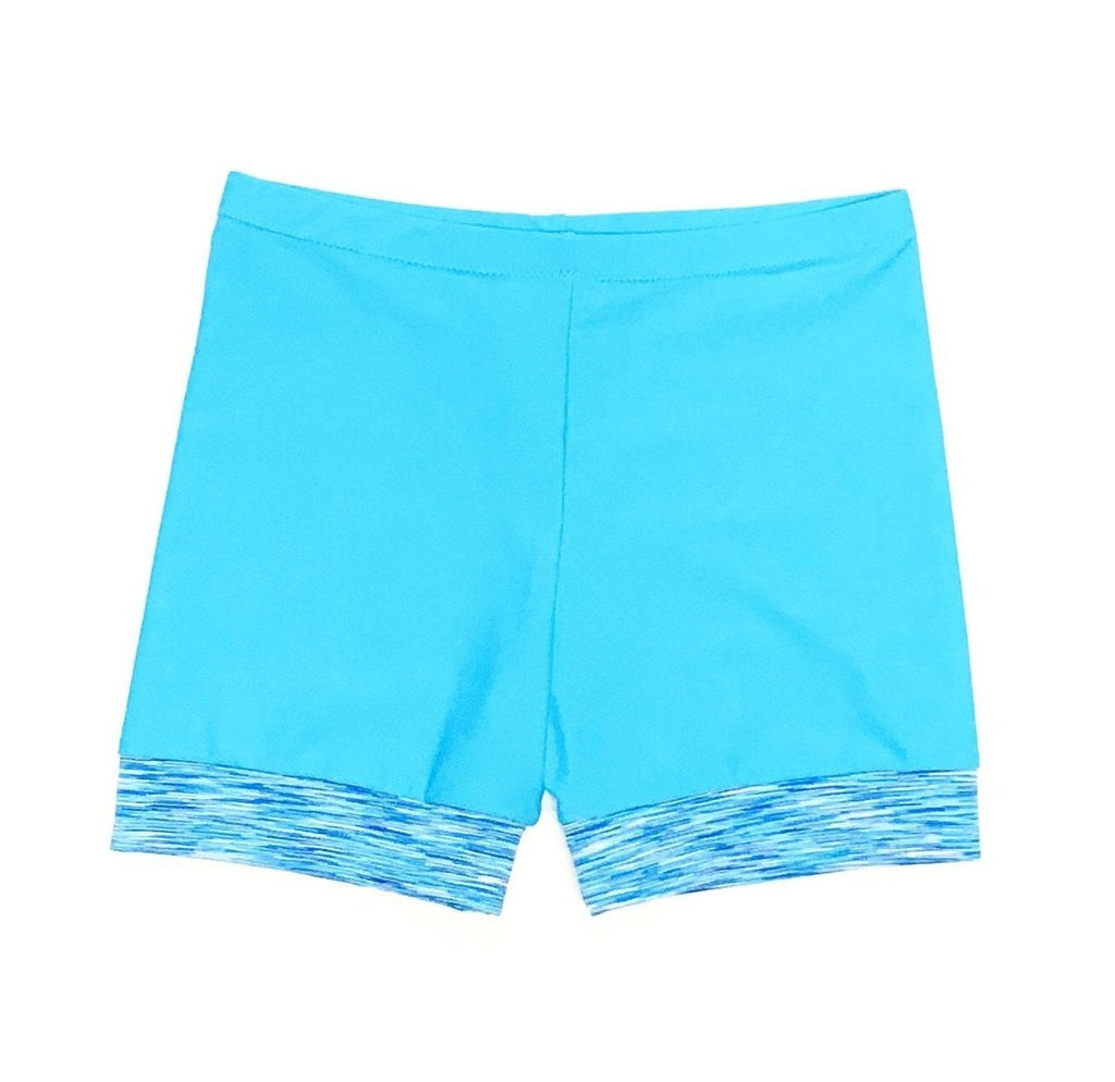 FCDW BOYLEG BLUE SHORTS
