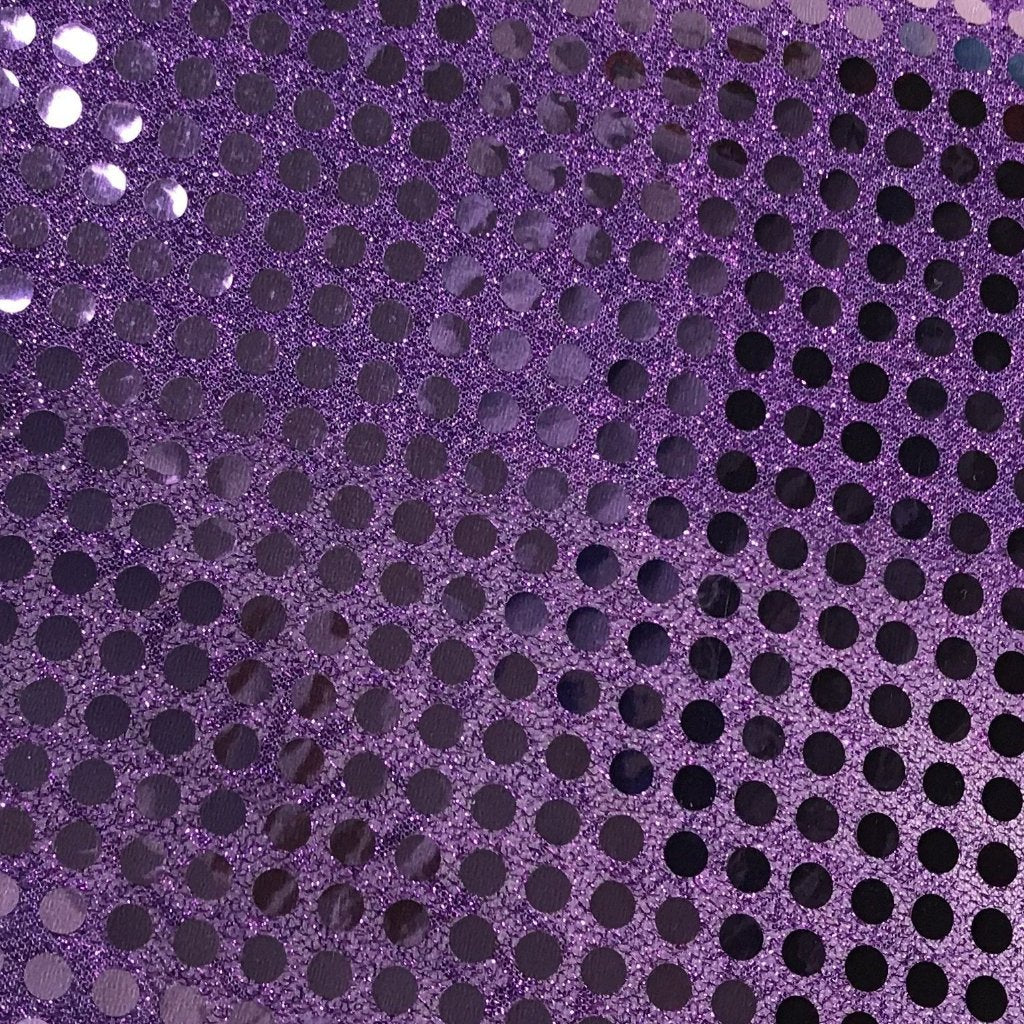 MESH COVERED SEQUIN MATERIAL