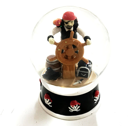 CAPTAINS CHEST SNOW GLOBE