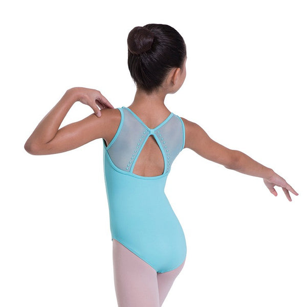 Copy of BLOCH ALUIN STUDDED PEARL LEOTARD