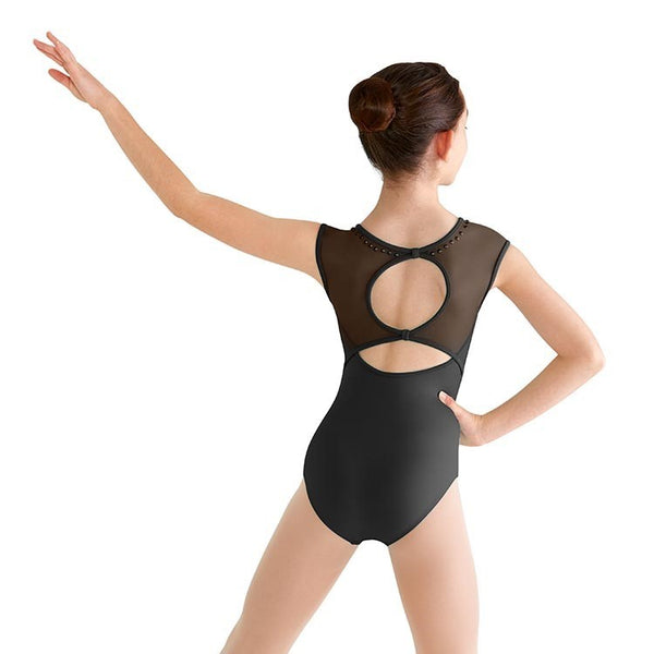 Copy of BLOCH FAYETTE PEARL STUDDED CAP SLEEVE LEOTARD