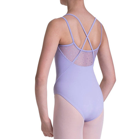 BLOCH HOLO SEQUIN CAMISOLE LEOTARD - First Class Dancewear NQ
