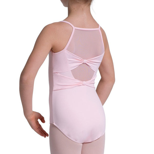 BLOCH TWIN BOW BACK CAMISOLE LEOTARD