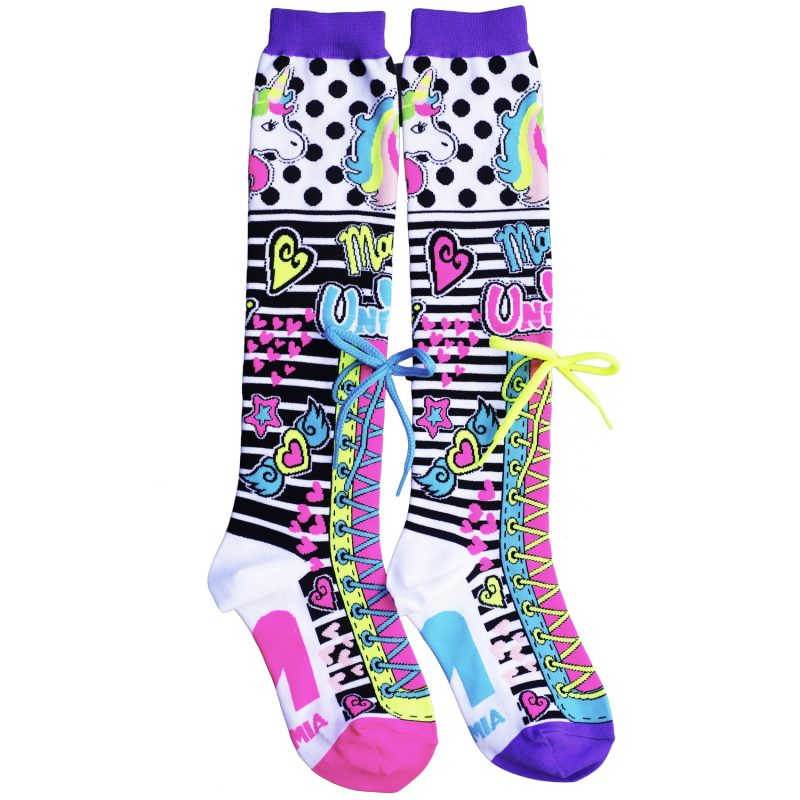 MADMIA UNICORN MAGIC KNEE HIGH SOCKS