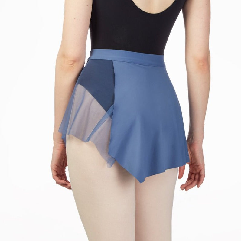 ASYMMETRICAL PULL ON SKIRT - First Class Dancewear NQ