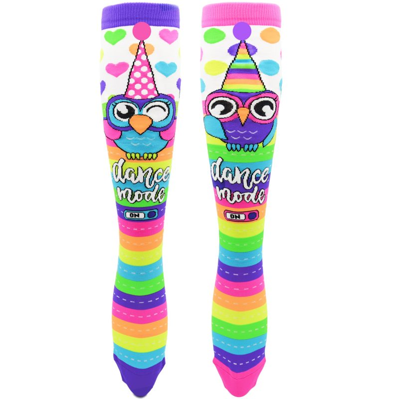 MADMIA PARTY OWL KNEE HIGH SOCKS