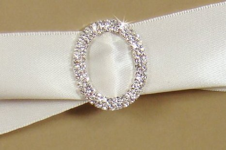 DIAMONTE BUCKLE 50MM OVAL