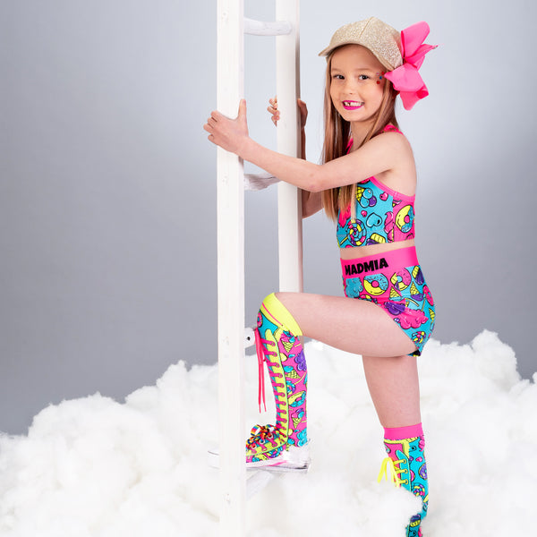 MADMIA CANDY LAND KNEE HIGH SOCKS