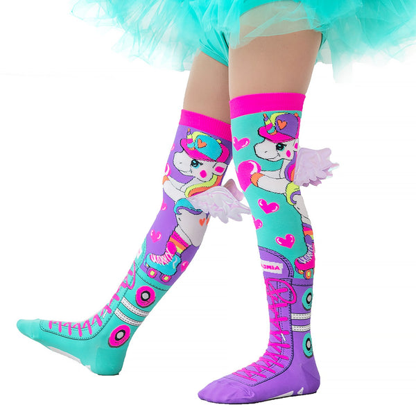 MADMIA SKATERCORN WITH WINGS KNEE HIGH SOCKS