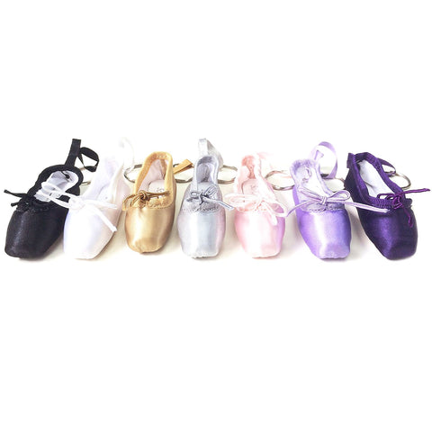 SO DANCA BALLET SHOE KEYRING