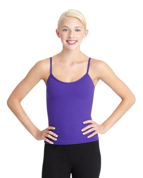 ADJUSTABLE STRAP CAMISOLE TOP - First Class Dancewear NQ