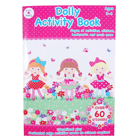 POLKA DOT DOLLY ACTIVITY BOOK