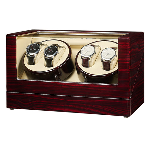 4 Watch Winders with  - Ebony