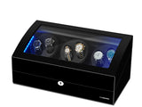 Six Automatic Watch Winder 21 Rotation Modes