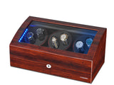 Automatic Watch Winder - Built-in Blue LED Illuminated