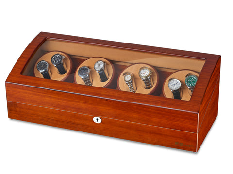 8 Watch Winder with 9 Display Storage Box for All Size Watches