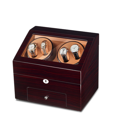 4 Watch Winder and 9 Storages With Quiet Motors