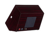 Watch Winder for 8 Winding Spaces with Built-in Illumination - Ebony
