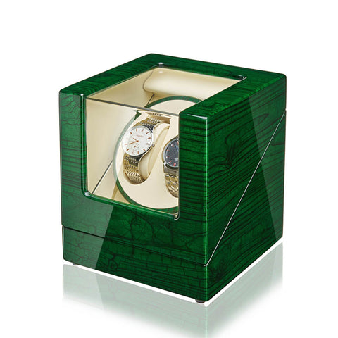Double Watch Winder-Green