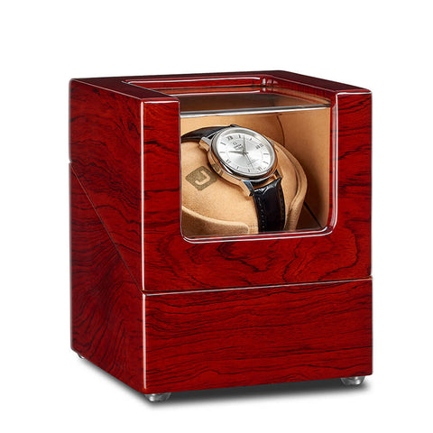 Single Watch Winder - Rosewood