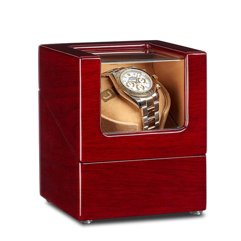 Single Watch Winder - Walnut