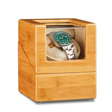 Single Watch Winder - Bamboo