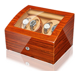 4 Watch Winder with 6 storages -Rosewood