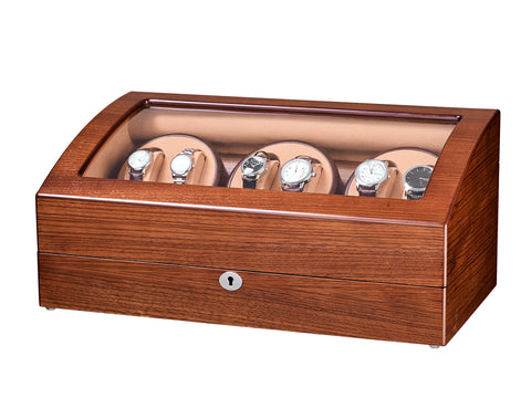 6 Watch Winder with 7 storages -Mandshurica