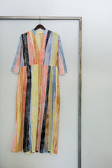 Eze Dress - Hand painted with love