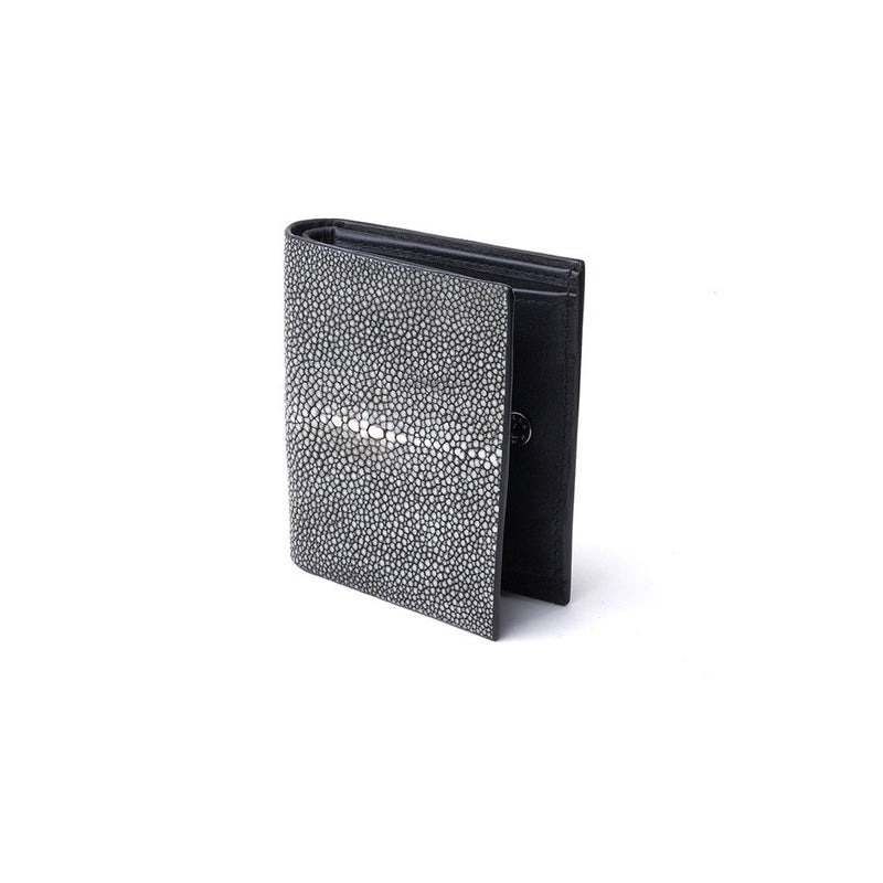 Mini Wallet in Shagreen Leather