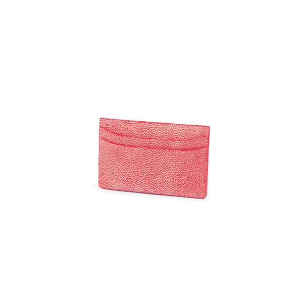 Multi Credit Cards Holder in Stingray Leather