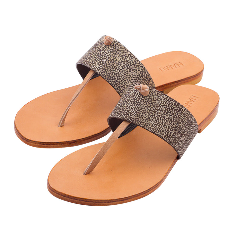 Capri Sandals - Stingray Leather