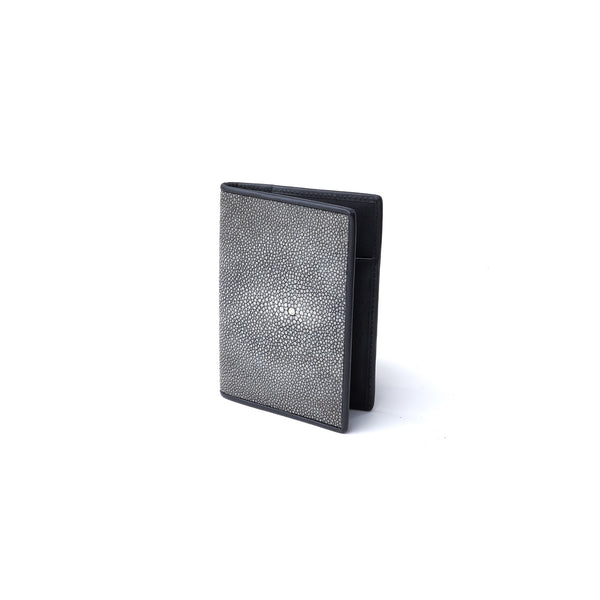 Passport Case in Stingray & Cow Leather