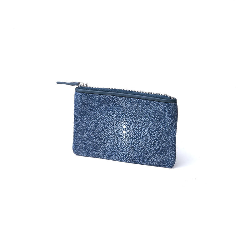 Soft Pouch in Stingray Leather