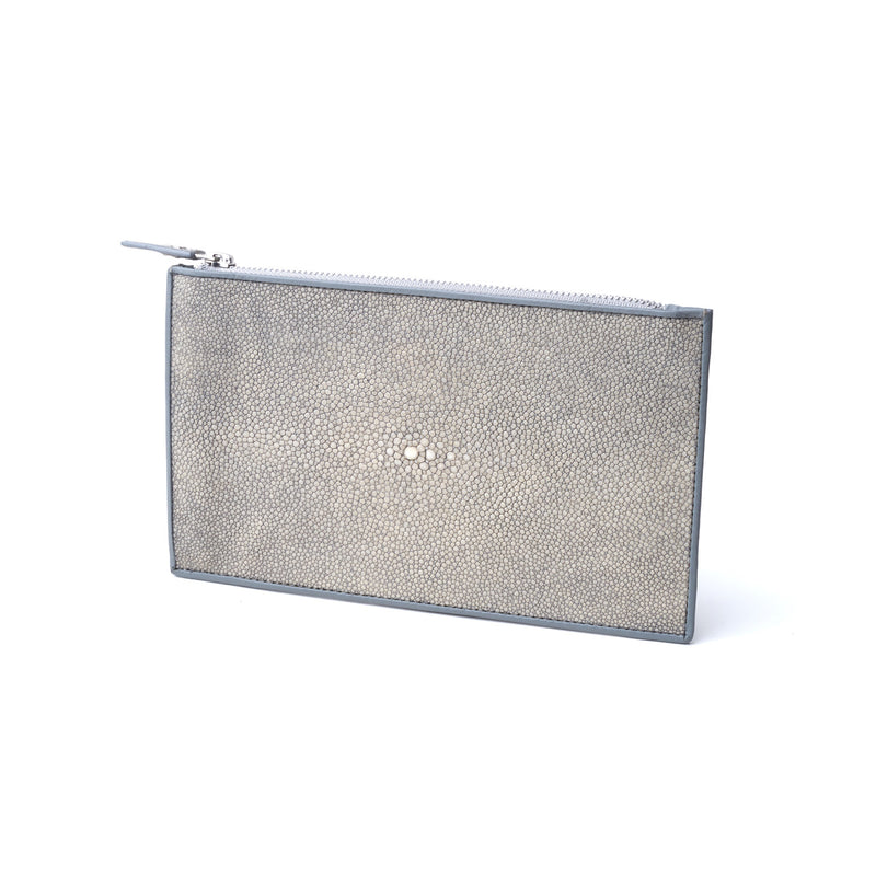 Zip Wallet in Stingray Leather