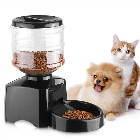 Automatic Pet Feeder with Voice Message Recording