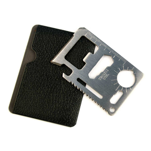 11 in 1 Multifunction Credit Card Survival Tool