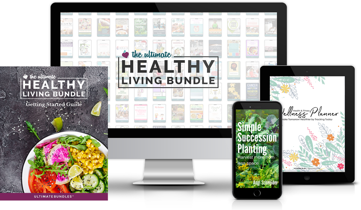The Ultimate Healthy Living Bundle and it is unreal!!!