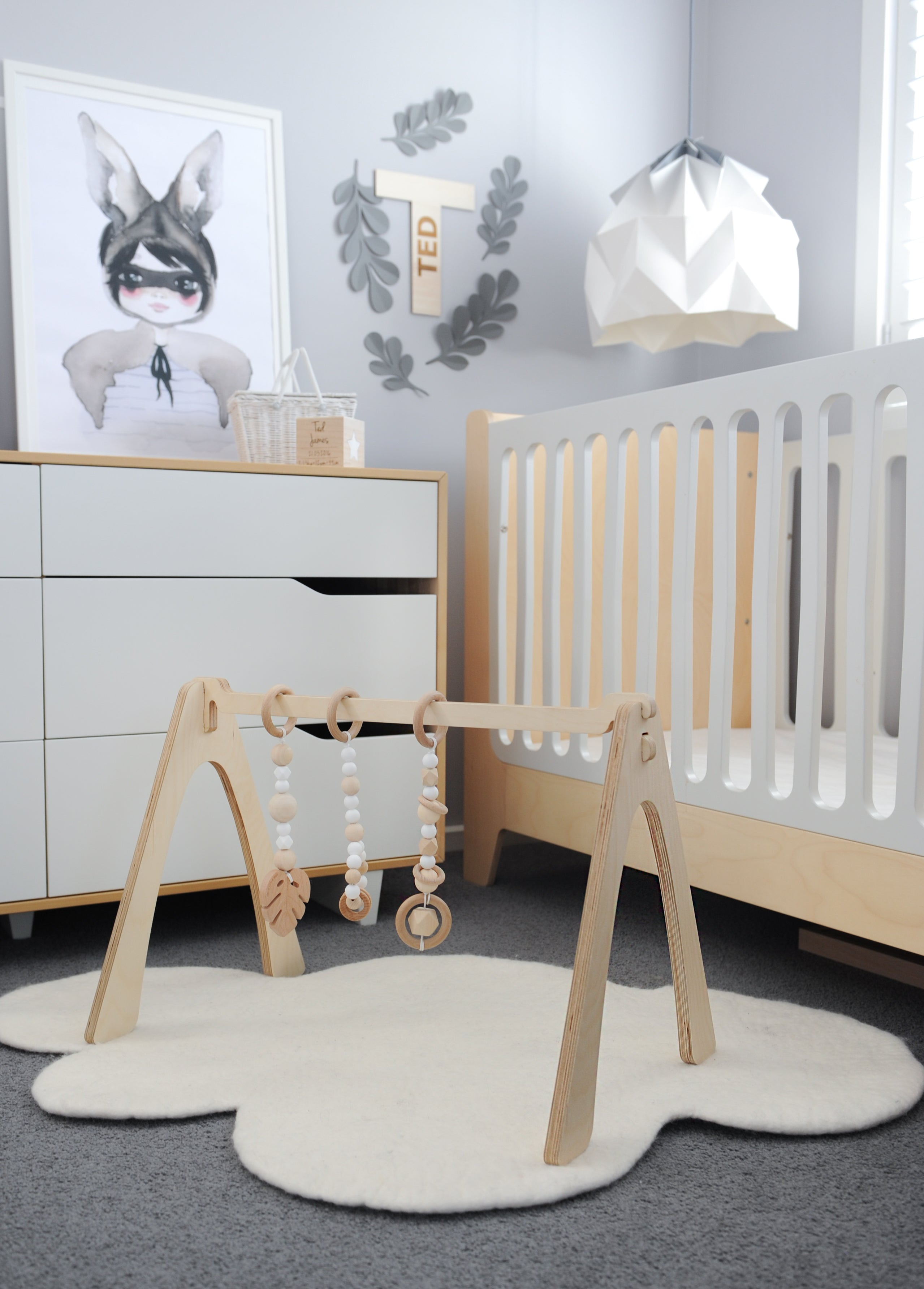 Baby Play Gym - Hand Crafted