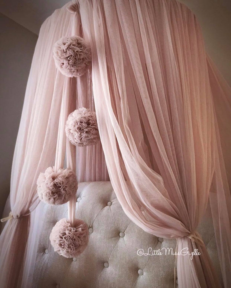 Spinkie Dreamy Canopy  | CHAMPAGNE Perfect for a baby girl nursery - The Mum Life