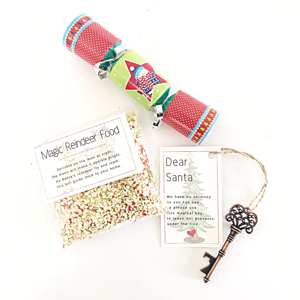 Magic Reindeer Food + Santa Key